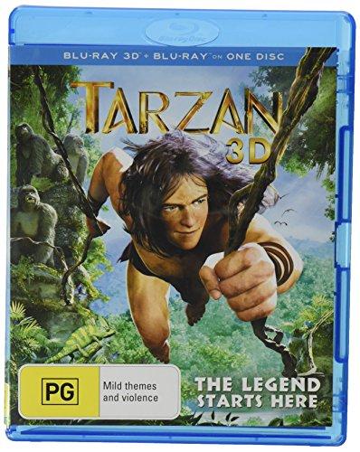 Tarzan 3d [Blu-ray] (Tarzan 3)