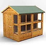 POWER-8x6-Apex-Potting-Shed-8-x-6-Wooden-Garden-Greenhouse-Sheds-Super-Fast-Delivery