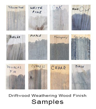 Driftwood Weathering Wood Finish 2 Pak Gray Wood Stain