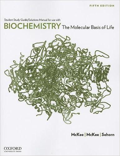 Amazon biochemistry the molecular basis of life 9780199730971 biochemistry the molecular basis of life 5th edition fandeluxe Images