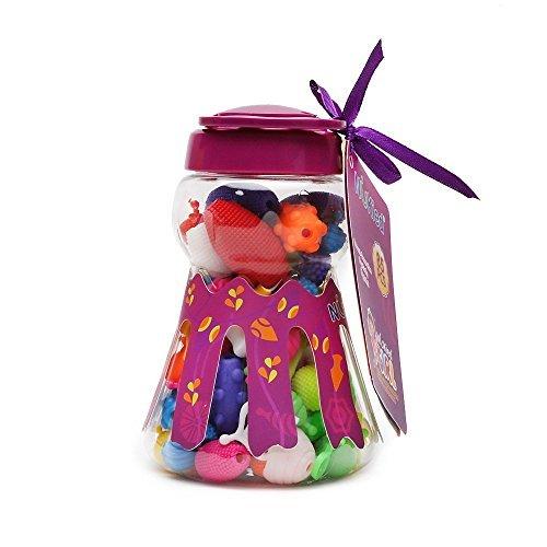 Kids Pop Snap Beads Set - Wishtime DIY Jewelry Kit for
