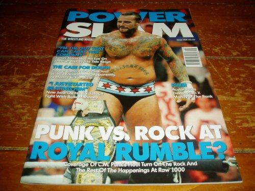 Power Slam Magazine # 216 August 2012 Issue