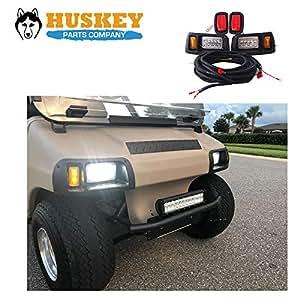 Amazon Com Huskey Club Car Led Light Kit Adjustable Led