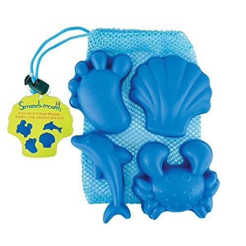 Moldes de Scrunch color azul