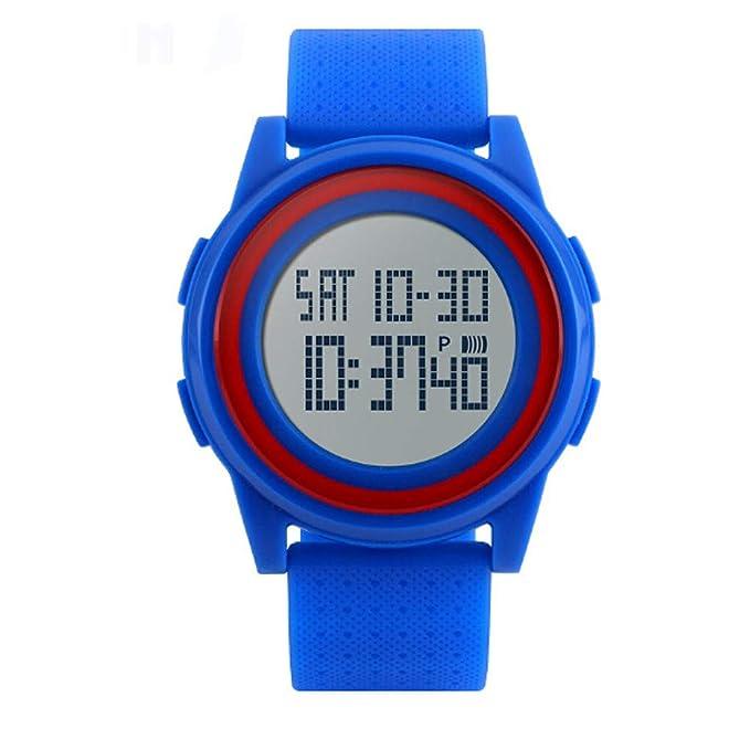 Rcool Relojes suizos relojes de lujo Relojes de pulsera Relojes para mujer Relojes para hombre Relojes deportivos,30M impermeable, multifunción, ...