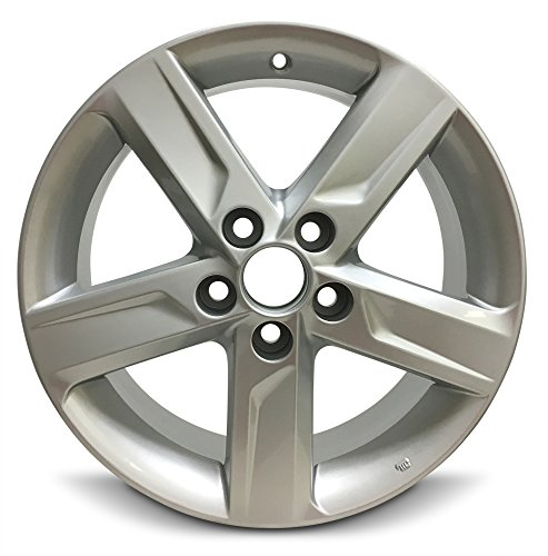 - Road Ready Car Wheel For 2012-2014 Toyota Camry 17 Inch 5 Lug Gray Aluminum Rim Fits R17 Tire - Exact OEM Replacement - Full-Size Spare