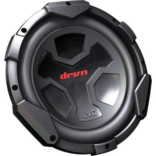 JVC CSG1210 1200W 12-Inch Single Voice Coil Subwoofer ()