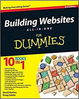 Image result for Building Websites: All-In-One for Dummies