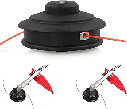 LUCKYHH - Bobina de hilo universal para desbrozadora, cabezal de hilo automático M10 x 1,25: Amazon.es: Bricolaje y herramientas