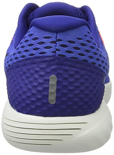 Nike Men's Lunarglide 8 Running Shoes Blue (Medium Blue/Deep Royal Blue/Hyper Orange/Black) hbI2gYzz