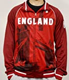 Men's 2014 FIFA World Cup Soccer England on Frame Sublimation Track Jacket (Adult XX-Large)