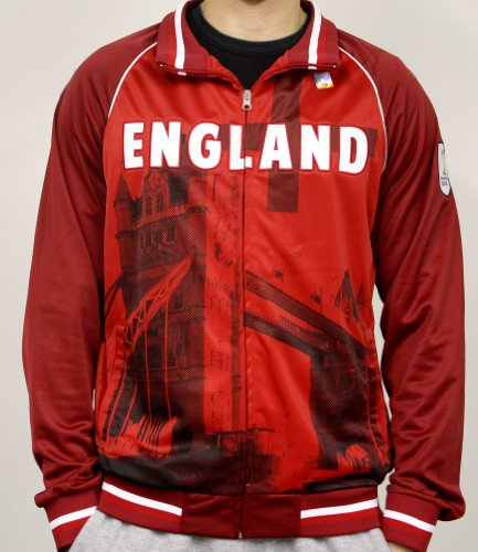 - Men's 2014 FIFA World Cup Soccer England on Frame Sublimation Track Jacket (Adult Medium)
