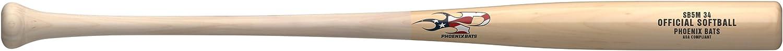 sb5 Birch Mens Wood Softball Bat ナチュラル 33\