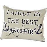 cape cod bedroom ideas VHC Brands Creme White Coastal Decor Family Anchor 14x18 Pillow