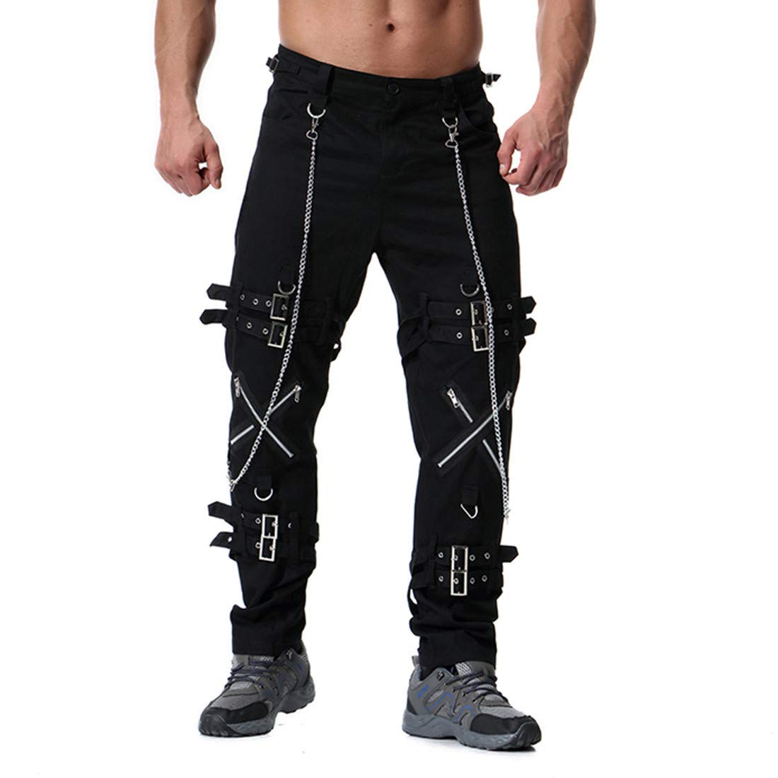 Personalidad Pantalones, Briskorry Pantalón Pitillo Gran Tamaño ...