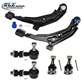 DLZ 6 Pcs Front Suspension Kit-2 Lower Control Arm and Ball Joint Assembly, 2 Lower Ball Joint, 2 Sway Bar for 1995-1998 Nissan 200SX, 1995-1999 Nissan Sentra