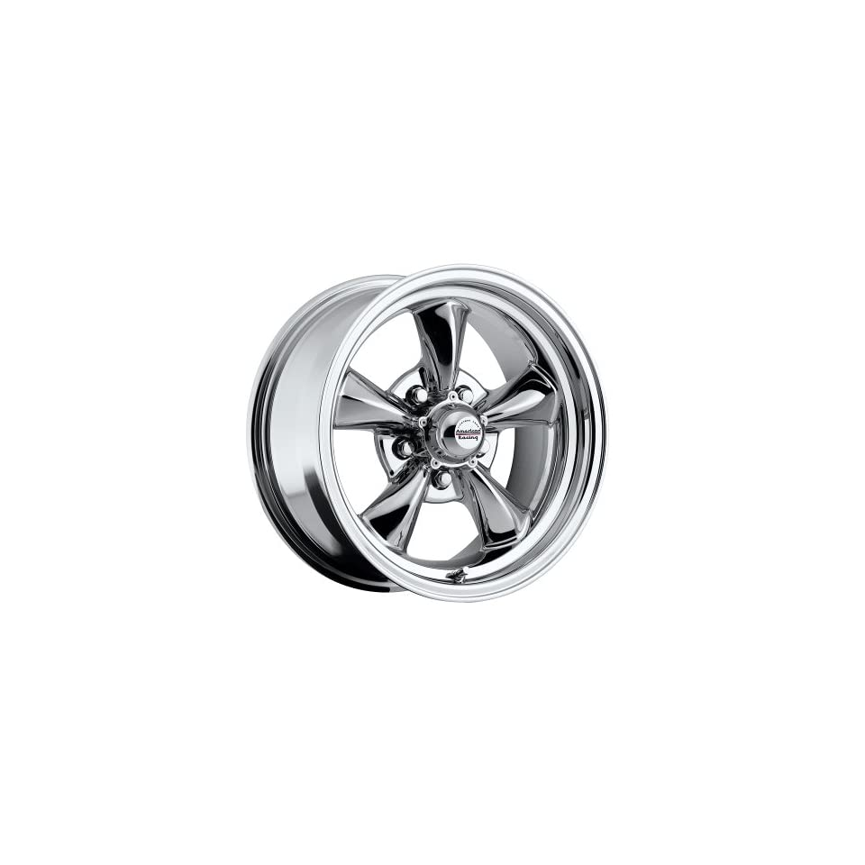 15 inch 15x6 / 15x7 100 C Classic Series Chrome aluminum wheels rims licensed from American Racing 5x4.50 Ford lug pattern 0 offset 3.50 and 4.00 backspacing (set of four wheels)