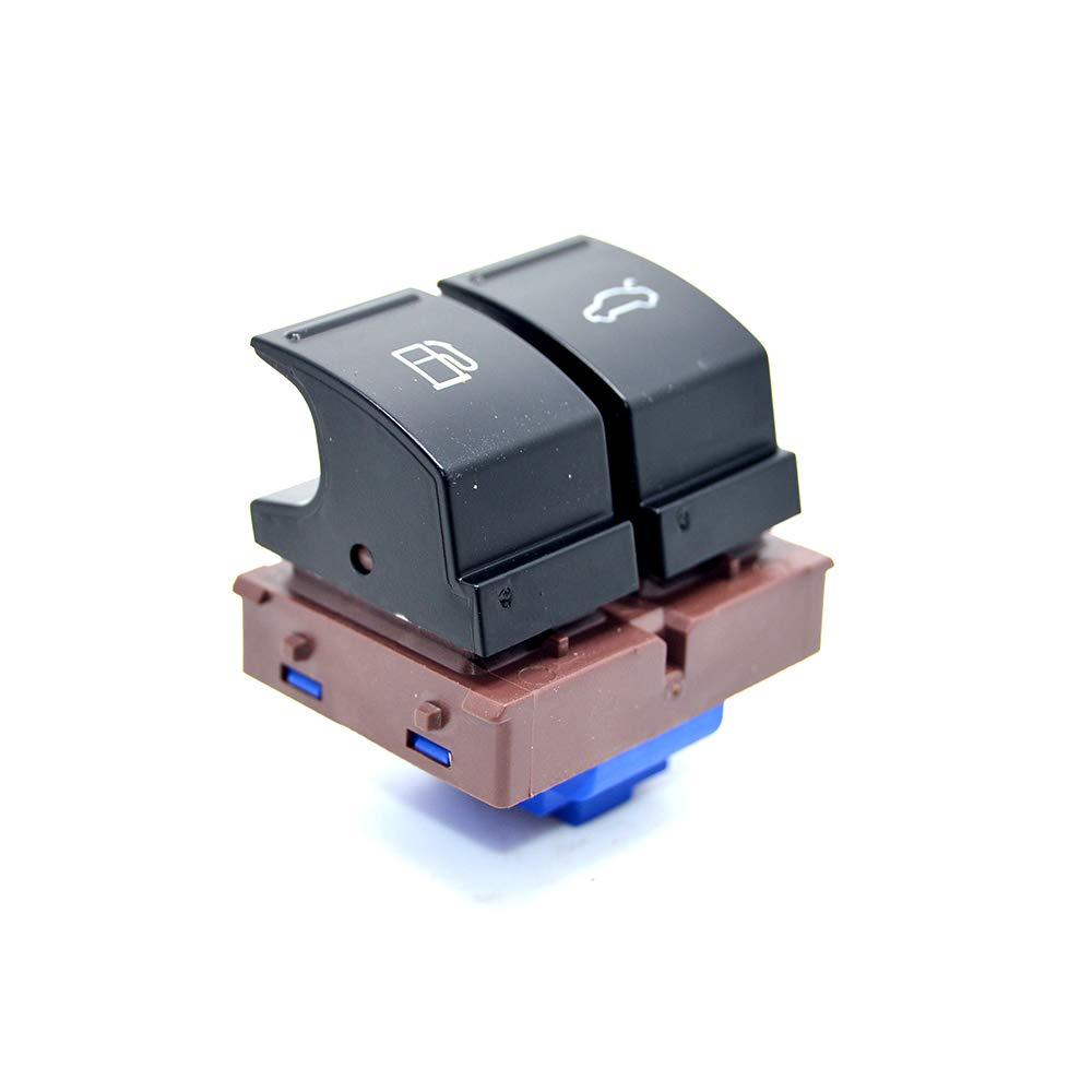 Surla Chrome Fuel Tank Door Trunk Release Button Switch 35D 959 903 For VW Passat B6 Jetta MK6 EOS CC 3C0 959 903 B