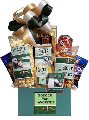 Super Soccer Star Gift Basket for Men (Football Basket Ideas)
