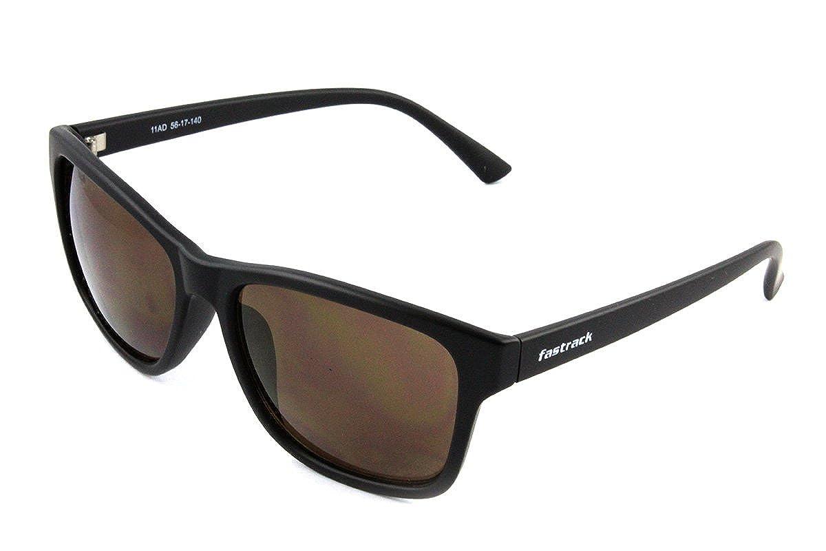 d8be367eb4 Fastrack UV Protected Wayfarer Men s Sunglasses - (P357BK4