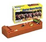 "Desktop Derby 6-Horse Racing Game - 10"" x 2.5"" x 5"""