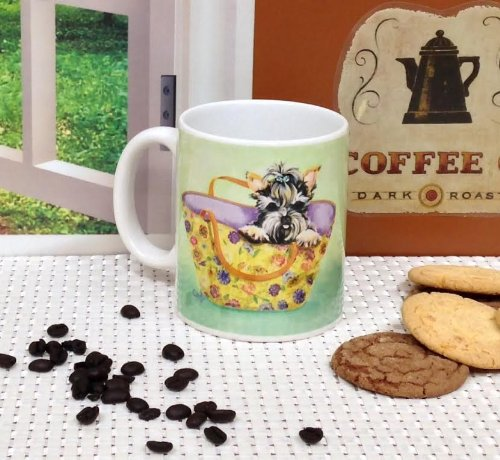 #60038 Yorkie Coffee Cup 8oz By ACK