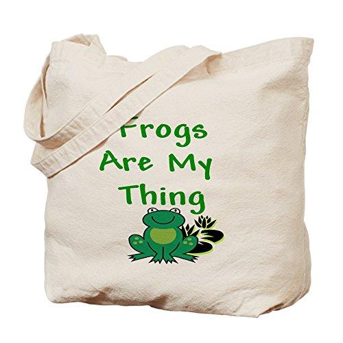 CafePress mi cosa son–Ranas–Gamuza de bolsa de lona bolsa, bolsa de la compra