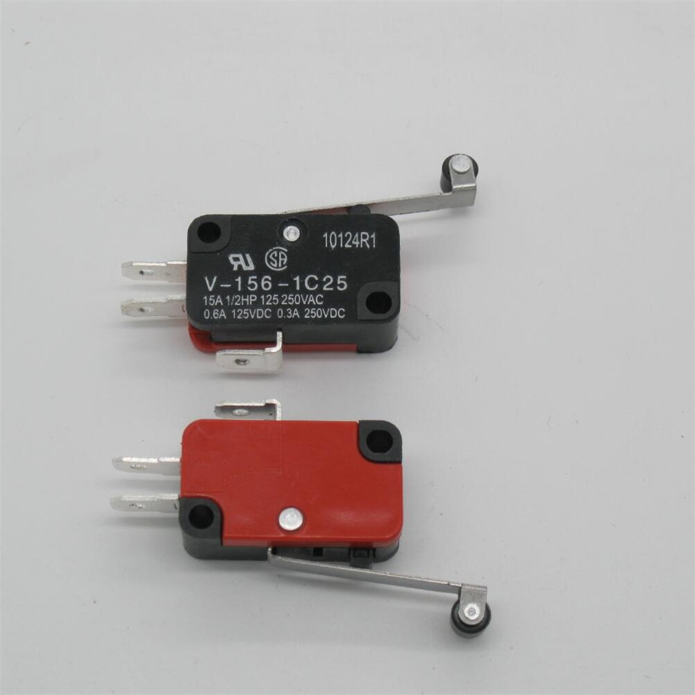 1 Pc Roller Lever Arm SPDT NO//NC Momentary Micro Switches V-156-1C25