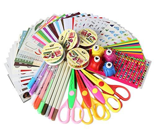 SICOHOME Scrapbooking Supplies, Scrapbook Kit for Teenage Girls Scrapbooking and Card Making