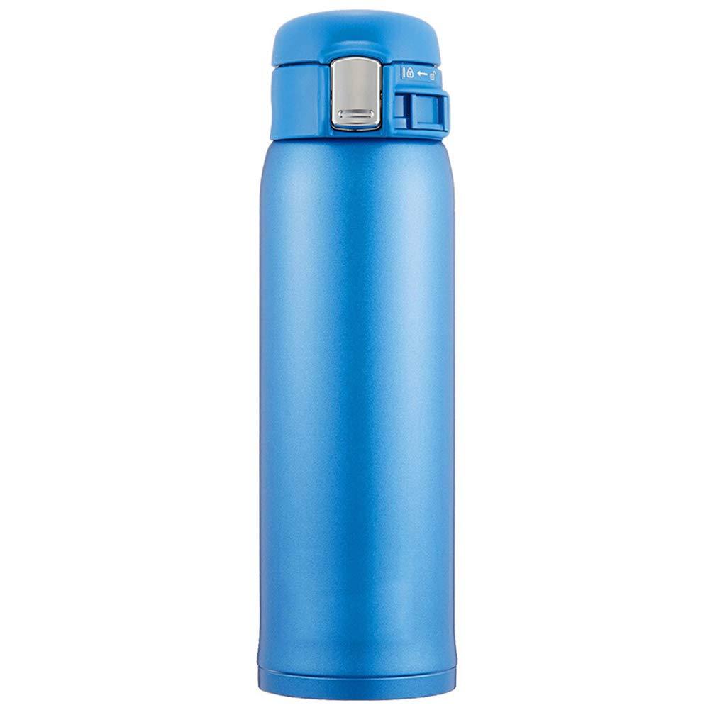 Sportflasche Isolier Becher Thermo Becher Travel Mug Kaffeebecher Wasserflasche Trinkbehälter Trinkflaschen- Auslaufsicherer Cup-Autotasse Aus Edelstahl JINRONG