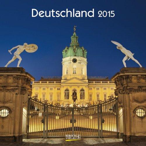 Deutschland 2015: Broschürenkalender mit Ferienterminen