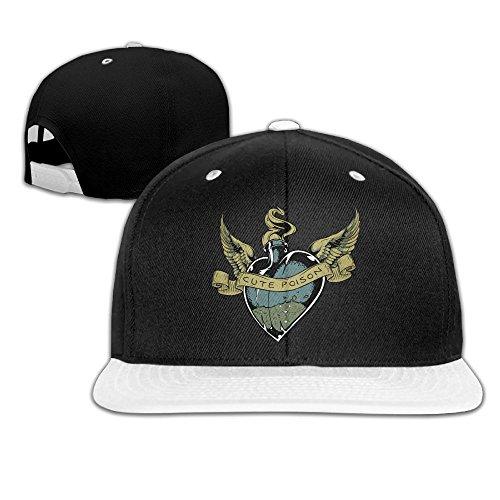 Humaoe Poisonous Love Fashion Peaked Baseball Caps/Hats Hip Hop Cap Hat Adjustable Snapback Hats Caps For Unisex