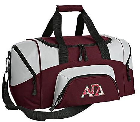 18f8bc64d11d Amazon.com : Small AGD Sorority Gym Bag Deluxe Alpha Gamma Delta ...