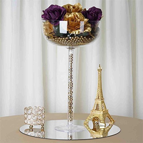 Efavormart Wholesale Plastic Sturdy Centerpiece Cup Stand Wedding Party Event Decoration - SET OF 4