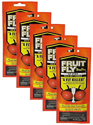 Fruit Fly Barpro Fly Control Strip (5 Pack) ()