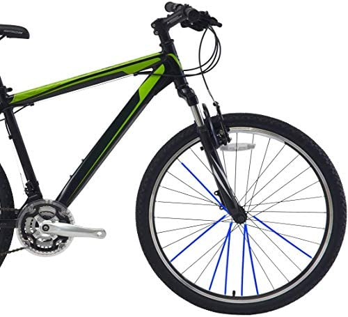 Winomo Speichencover Speichen Überzug Für Fahrrad Motorrad Rad Schutz 72pcs Blau Auto