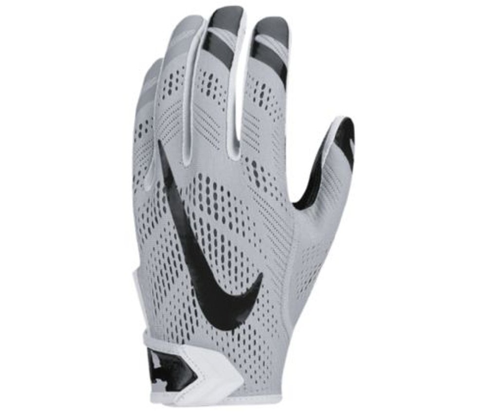 Nike Vapor Knit MagniGrip gf0386 – 055 NFHS/NCAAブラック/グレーFootball Gloves B01DVR2JMA  size Medium