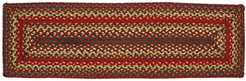 Homespice Rectangular Table Runner Jute Braided, 11-Inch by 36-Inch, Cider Barn
