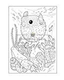 Ocean Baby Animals Coloring Book: A Coloring Book