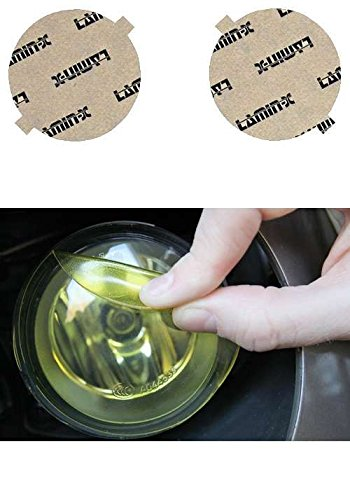 Lamin-x FR102Y Fog Light Cover (00 Ferrari F355 Spider)