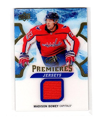2017-18 Upper Deck Ice Premieres Jerseys Madison Bowey #IPJ-MB NM Near Mint MEM from Ice Premieres Jerseys