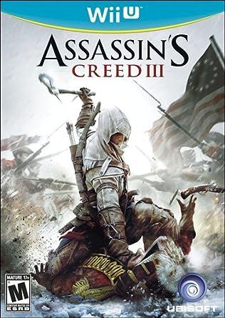 Amazon Com Assassin S Creed Iii Nintendo Wii U Video Games