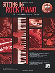 Sitting In -- Rock Piano: Backing Tracks and Improv Lessons, Book & Online Audio & Software (Sitting In Series)