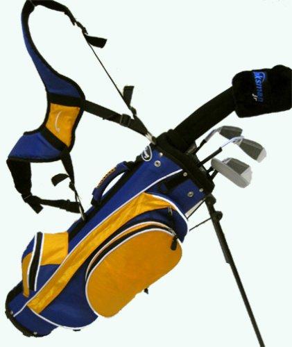 Linksman Golf 3-5 Year Old Boys Junior Golf Set w/ Stand Bag, Outdoor Stuffs