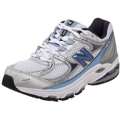 New Balance Women's Wr1012 Nbx Motion Control Running Shoe,Silver/Blue,12 D