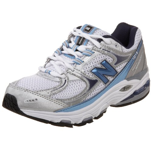 New Balance Women's Wr1012 Nbx Motion Control Running Shoe,Silver/Blue,7 D Nbx Stability Running Shoe
