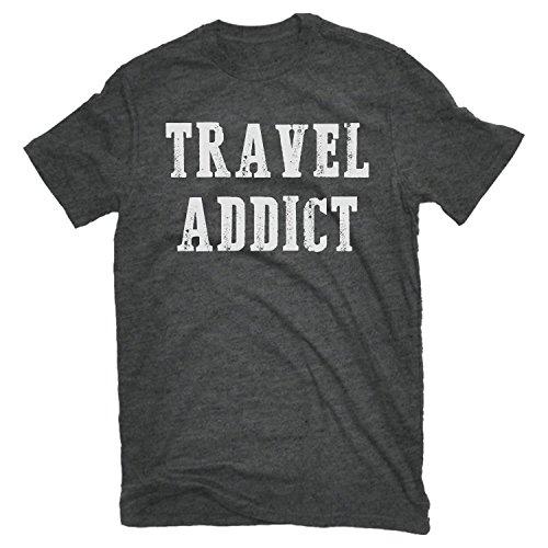 Road Trip Tees - Men's T-Shirt - Travel Addict Tee