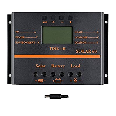 Best Cheap Deal for Y-SOLAR 30A 60A 80A Solar Charge Controller 12V/24V Battery Charger with 5V USB Mobile Charger Output LCD Display by YSmart Technology Co.,Ltd - Free 2 Day Shipping Available