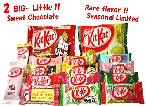 random-assortment-of-14-japanese-kit-kat-with-2-big-little-mellow-matcha-chocolate-