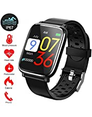 2020 Hot Fitness Tracker,1.3 Smartwatch Pressione Sanguigna Cardiofrequenzimetro da Polso Smart Watch IP68